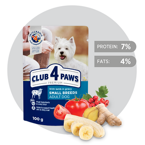 CLUB 4 PAWS Premium Lamb in gravy