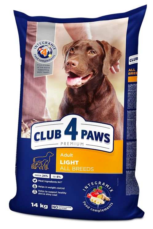 CLUB 4 PAWS Premium light - Weight Control