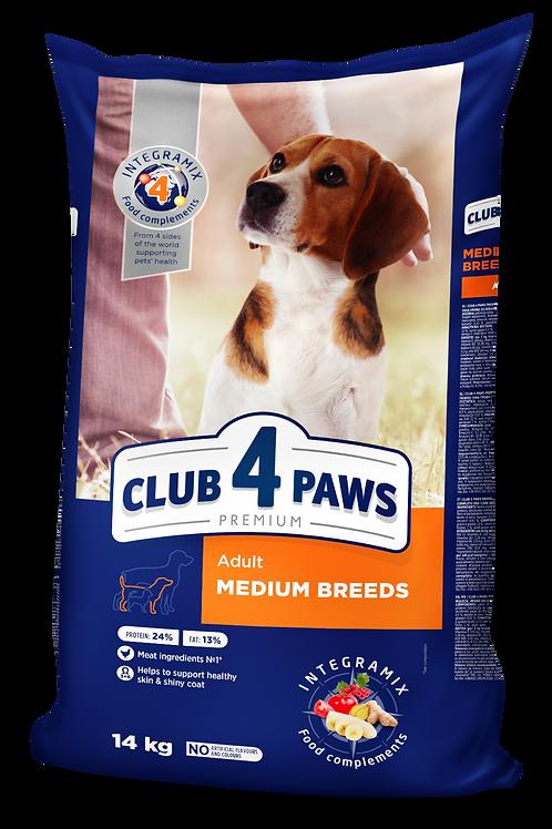 CLUB 4 PAWS Premium for Medium breeds