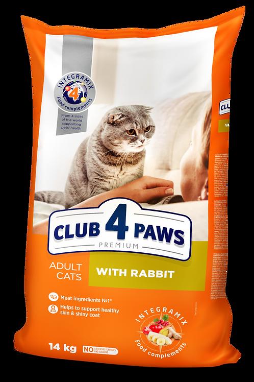 CLUB 4 PAWS Premium with Rabbit