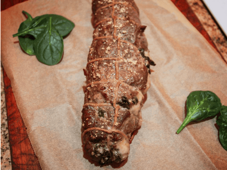 Rolled Venison Backstrap | Free Hunting App