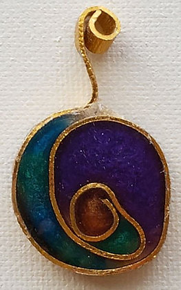 Stained Glass-like Pendant 3