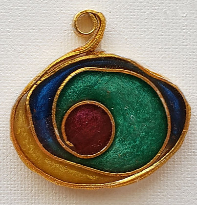 Stained Glass-like Pendant 8