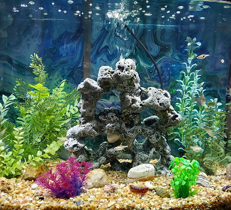 Custom Aquarium Backdrop