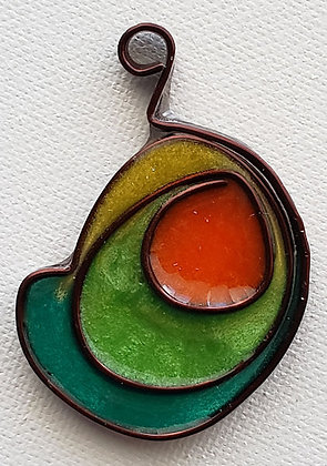 Stained Glass-like Pendant 1