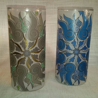 Swirl Candleholder with Embossing