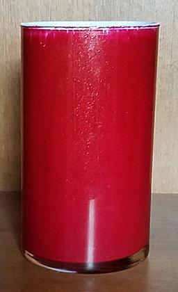 Glittering Red Candleholder/ Vase