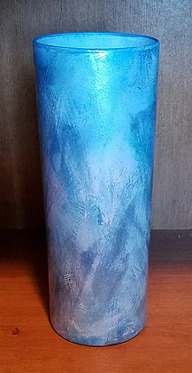 Candleholder/Vase with Blues & More
