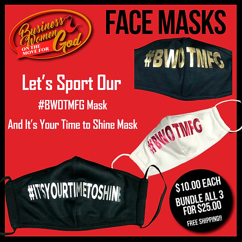BWOTMFG Face Masks
