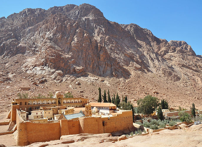 St-Catherines-Monastery-Mount-Sinai-Egyp