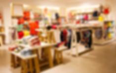 Интерьер Магазин детской одежды