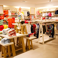 Interior of Children's Clothing Store