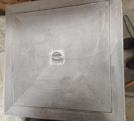 Aluminium deksel