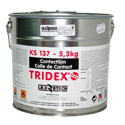Contactlijm KS137 5.3kg Tridex