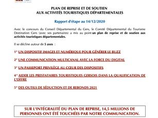 Plan de Reprise et de Soutien : 14,5 millions de personnes touchées !
