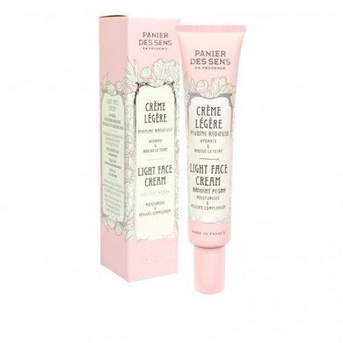 Light Face Cream: Radiant Peony