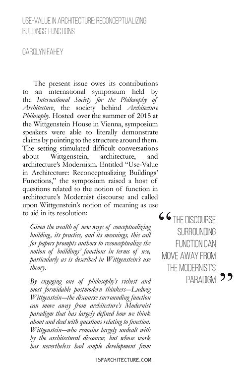 V2N2 - Editorial / by Carolyn Fahey