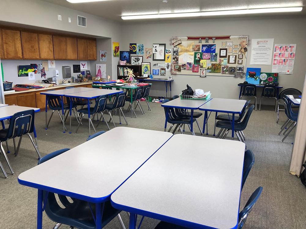 All Grades Art Classroom