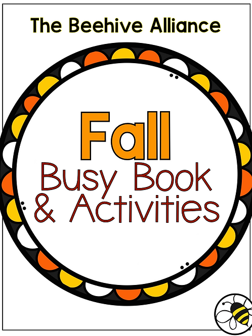 Fall Busy Book