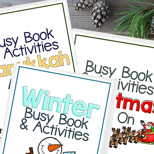 Winter Busy Book: Full Bundle
