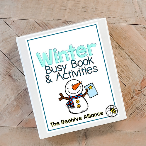 Winter Busy Book