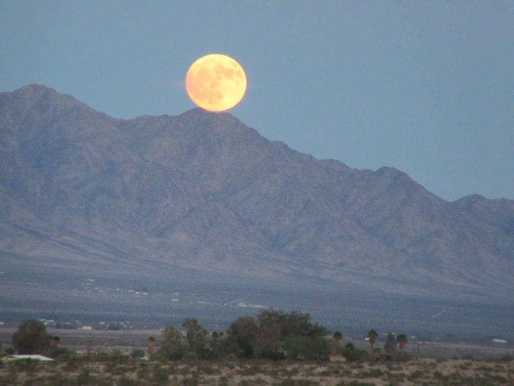 Natur-Beleuchtung in der Wüste!
