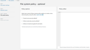 EFS - FS Policy