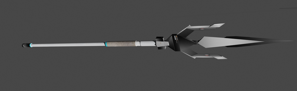 3D Model of Gungnir - Project Gungnir