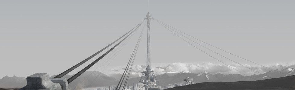 Concept art - Space Elevator - Tree of Firmament