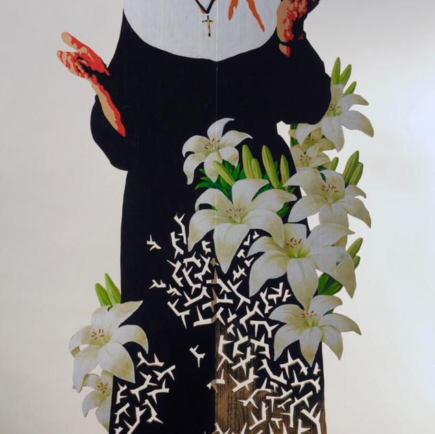 Lilies and thorns - Vicki