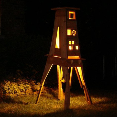 Self-contained Structure (night view)