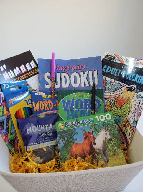Puzzle Book Gift Set