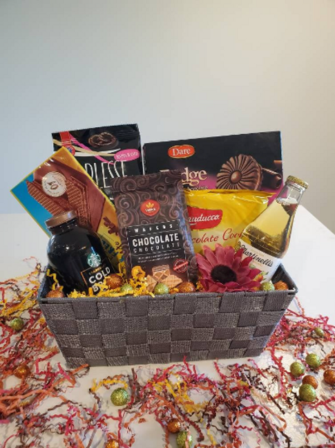 Chocolate Cookie Gift Basket