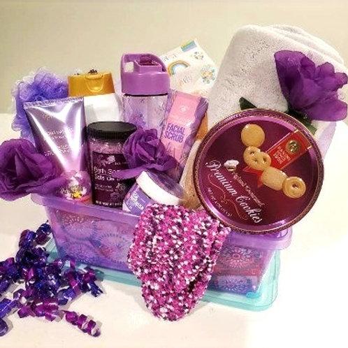 Deluxe Purple Spa Gift Set