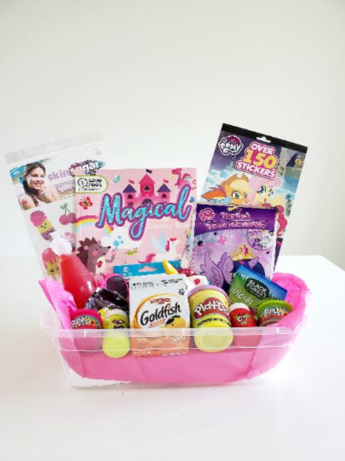 Personalized Girls Activity Box