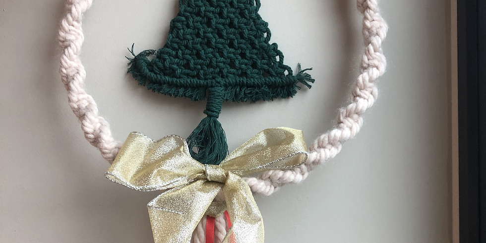 Christmas Wreath Macrame Workshop