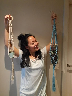 yoga classes and handmade macrame  why knot
