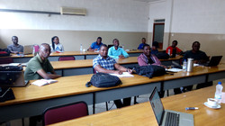 Students attending lectures