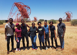 Students at the H.E.S.S. Observatory