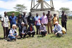 DARA-Kenya Students at Longonot