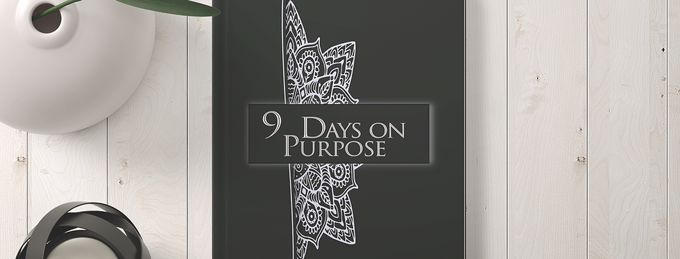 9 Days on Purpose Journal