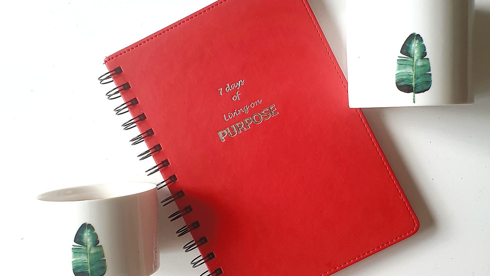 7 Days of Living on Purpose Journal (PU Soft Touch cover)