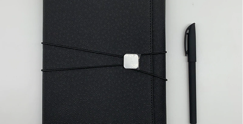 A5 Lux Leather 9 Days On Purpose Journal