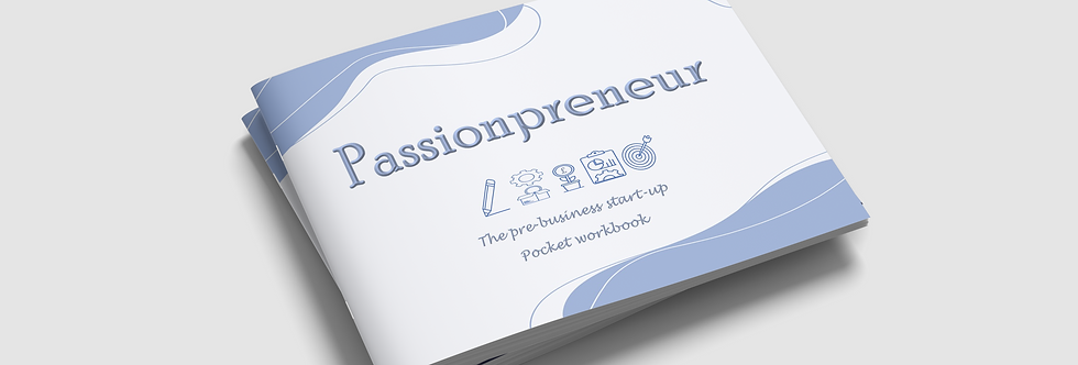 Passionpreneur Pre-Business Start-Up Pocket Workbook