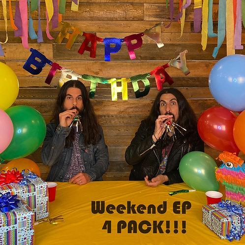 Weekend EP 4-Pack