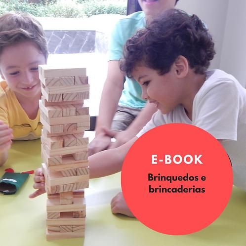 E-book: brinquedos e brincadeiras