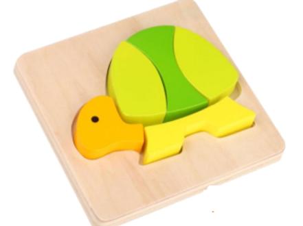 Mini Brinquedo de Encaixe -Tartaruga