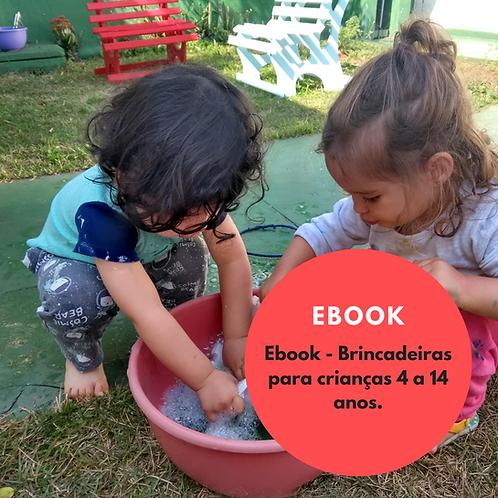 E-book: brincadeiras para a quarentena