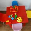 Uma mesa infantil