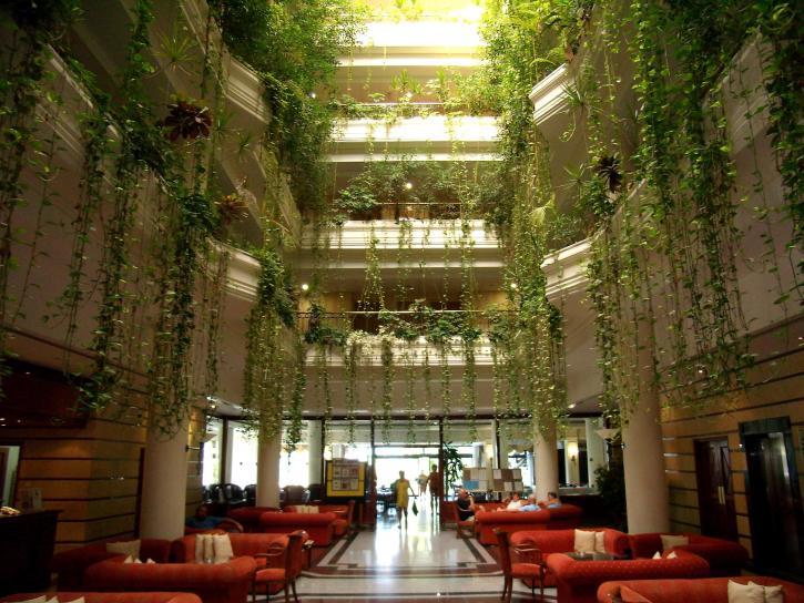 Qu'est-ce qu'un atrium?